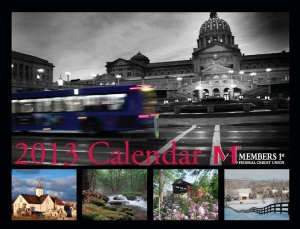 2013 Members 1st Calendar cover