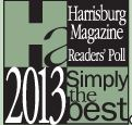 Harrisburg Magazine Simply The Best logo 2013
