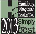 Harrisburg Magazine Simply The Best logo 2013