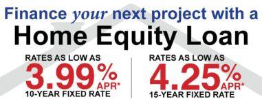 Home equity specials