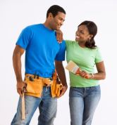 Couple home repairs smaller