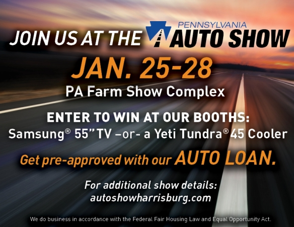 Well Be At The PA Auto Show Will You Members St FCU - Car show giveaways